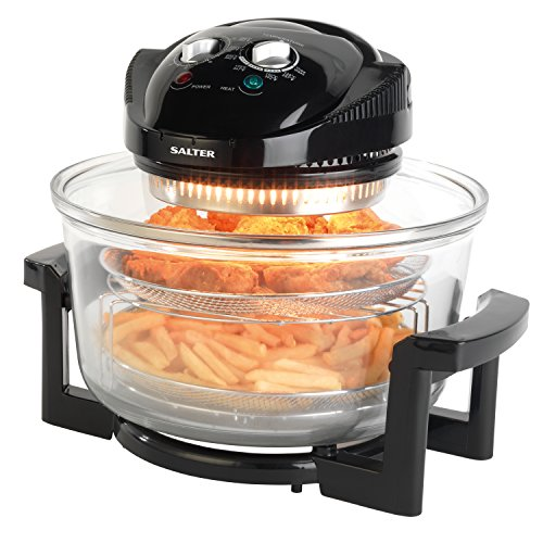 Salter EK1950 Low Fat Fryer Triple Power Halogen Cooker