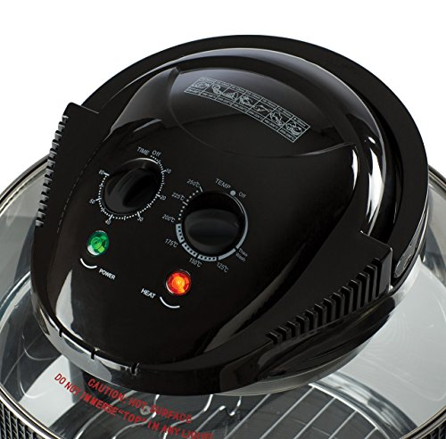 Daewoo Deluxe 1.7L 1300W Halogen Air Fryer