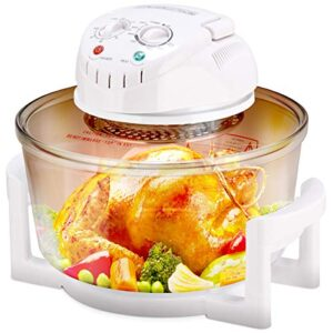 COSTWAY Upgraded Halogen Oven, 1400W 12L
