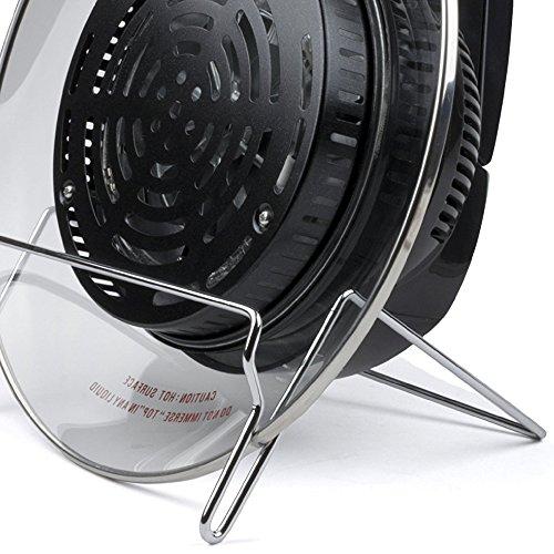 Andrew James Halogen Oven Accessory | Lid Stand Holder for 7 Litre Halogen Ovens