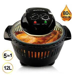 AUCMA Halogen Oven 12 Litre with Lid 1300W