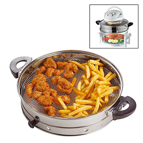 HALOGEN OVEN AIR FRYER RING / ATTACHMENT / ACCESSORY IDEAL FOR FRYING GRILLING