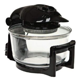 Michael James Electric Halogen Oven with Hinged Lid
