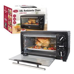 Quest 35390 Mini Oven with Rotisserie